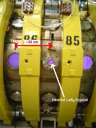 LaB6 in plasma